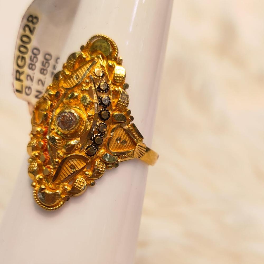 916 Gold Hallmark Ring For Women