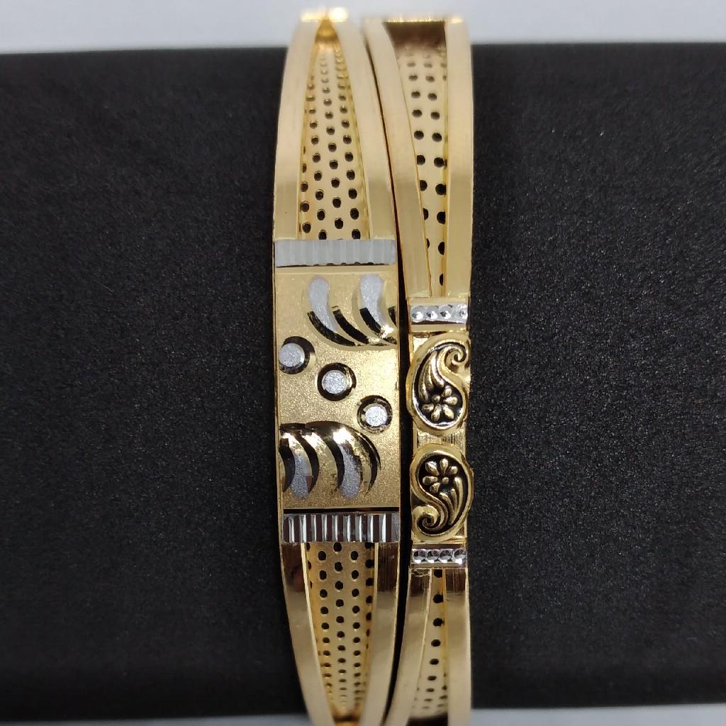 916 gold Fancy copper kadli