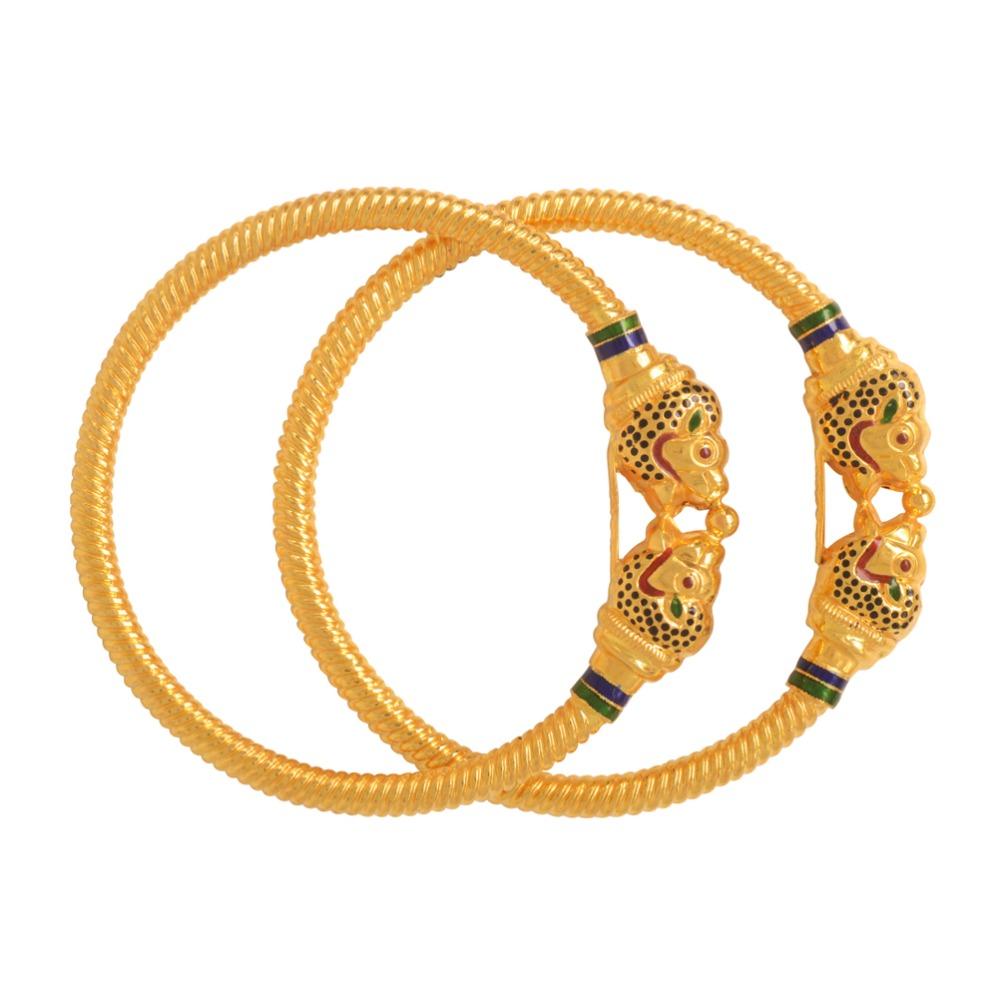916 Gold Variya Copper Kadli Bangle RJK-007