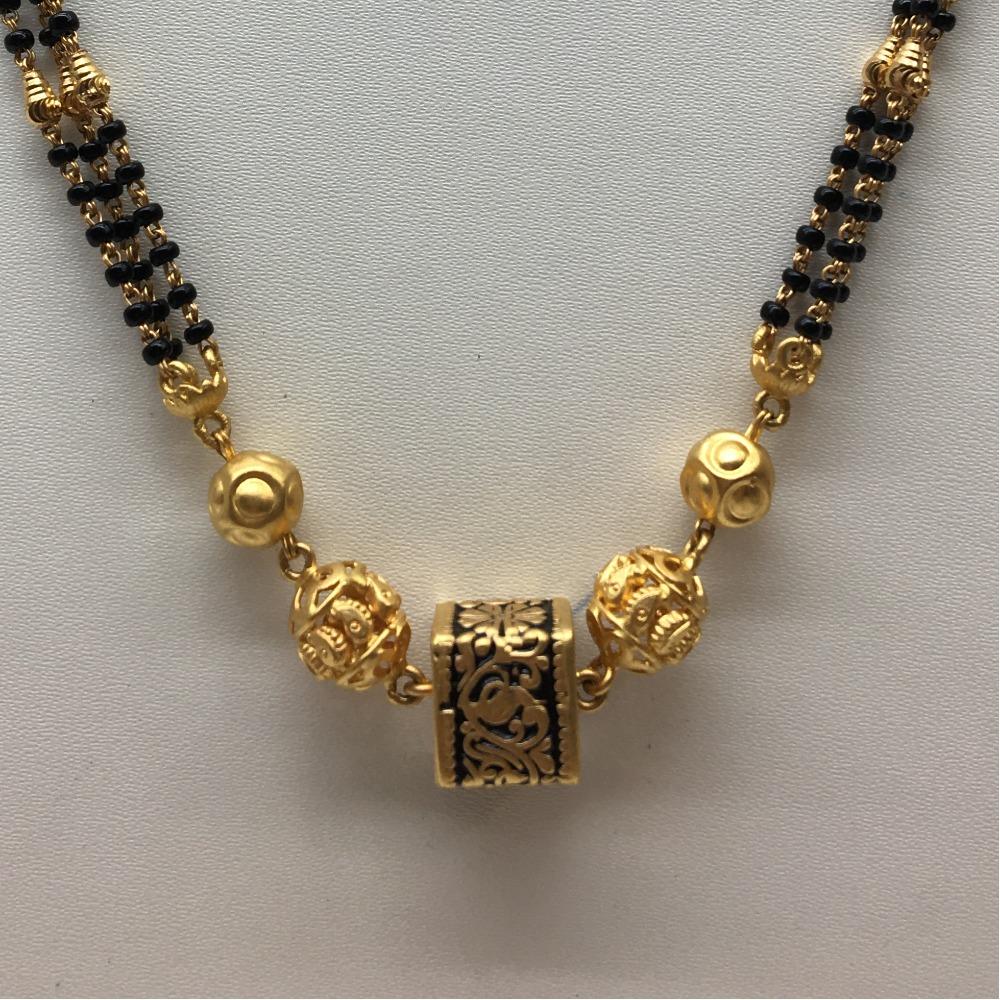 22ct gold antique bridal mangalsutra dokiya