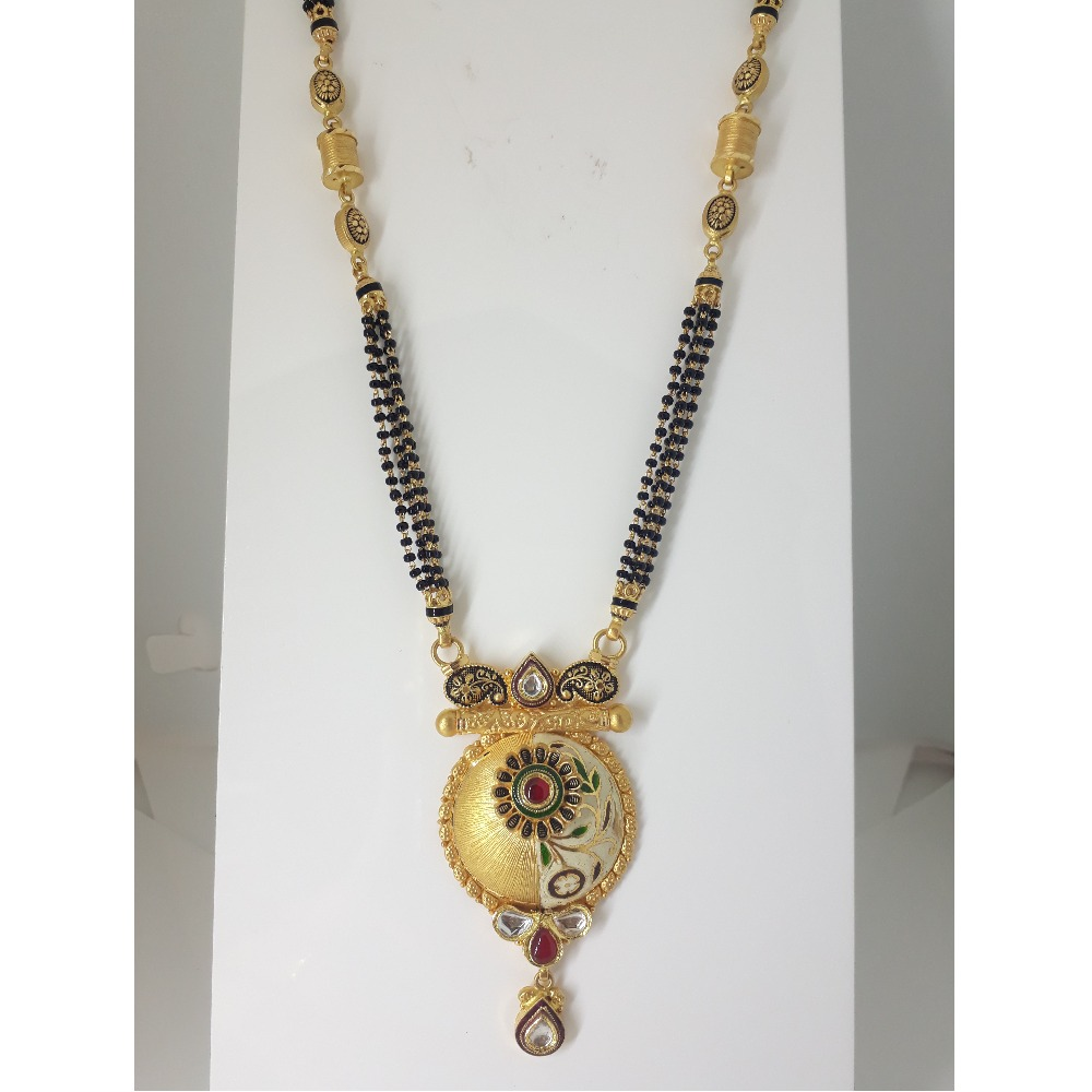 916 Gold Antique Mangalsutra IO-A011