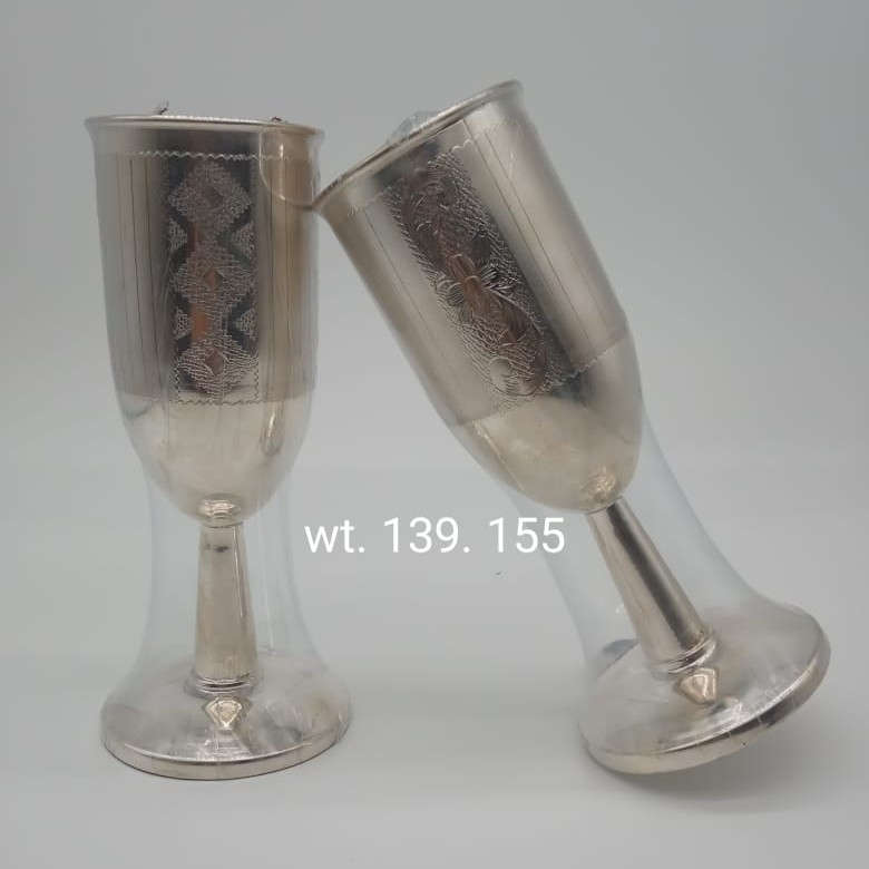 92.5 Sterling Silver Wine glasses