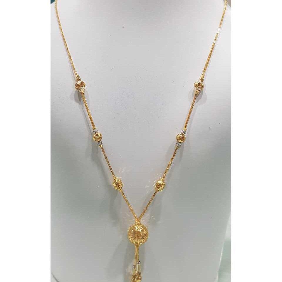 916 Gold Designer Ladies Modern Necklace