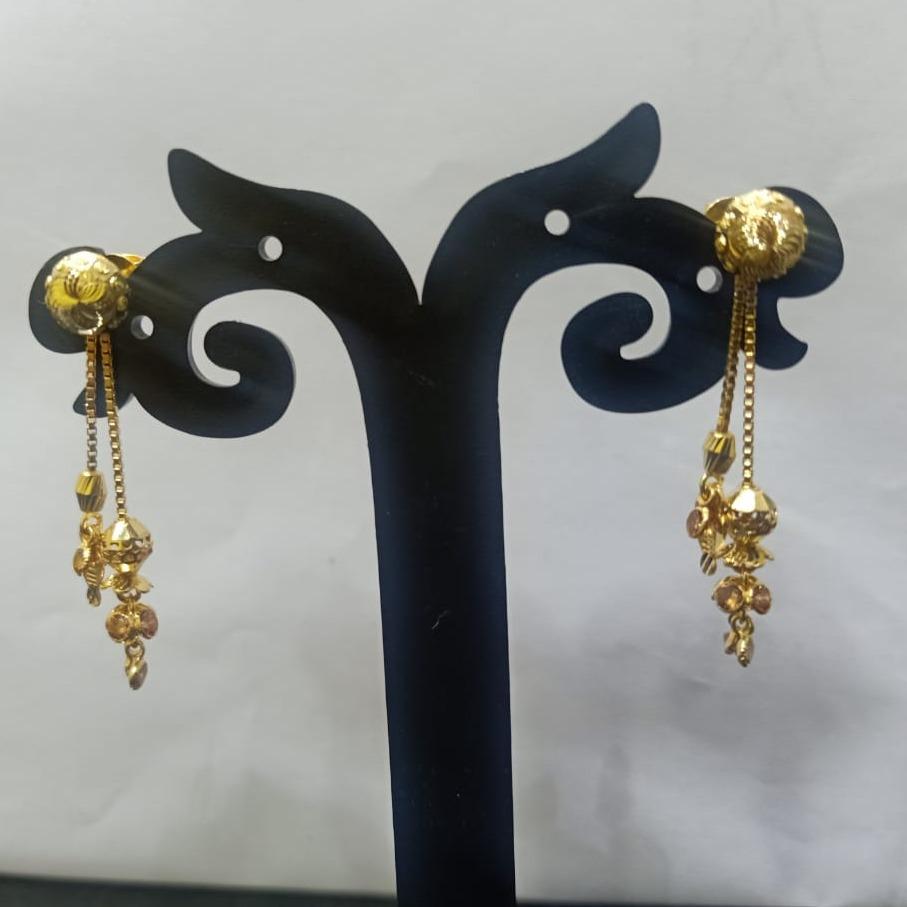 22KT Gold Antique Design Soidora Earring