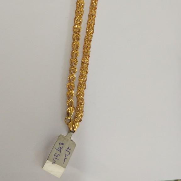 916 gold hallmarked chain jy1759
