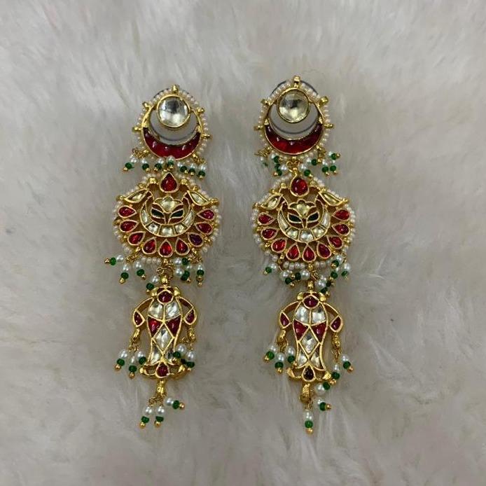 Designer Wedding Wear Earrings