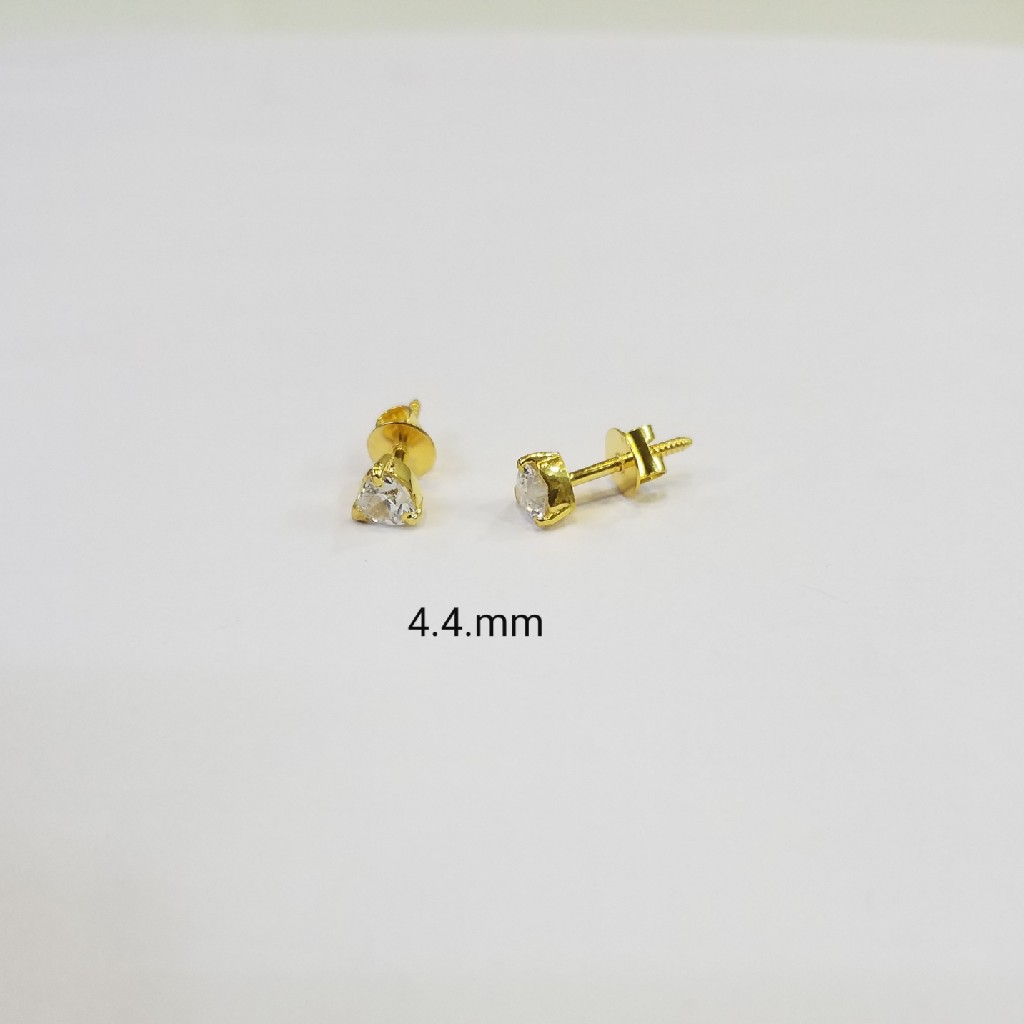 18kt gold c ston butti WG5164