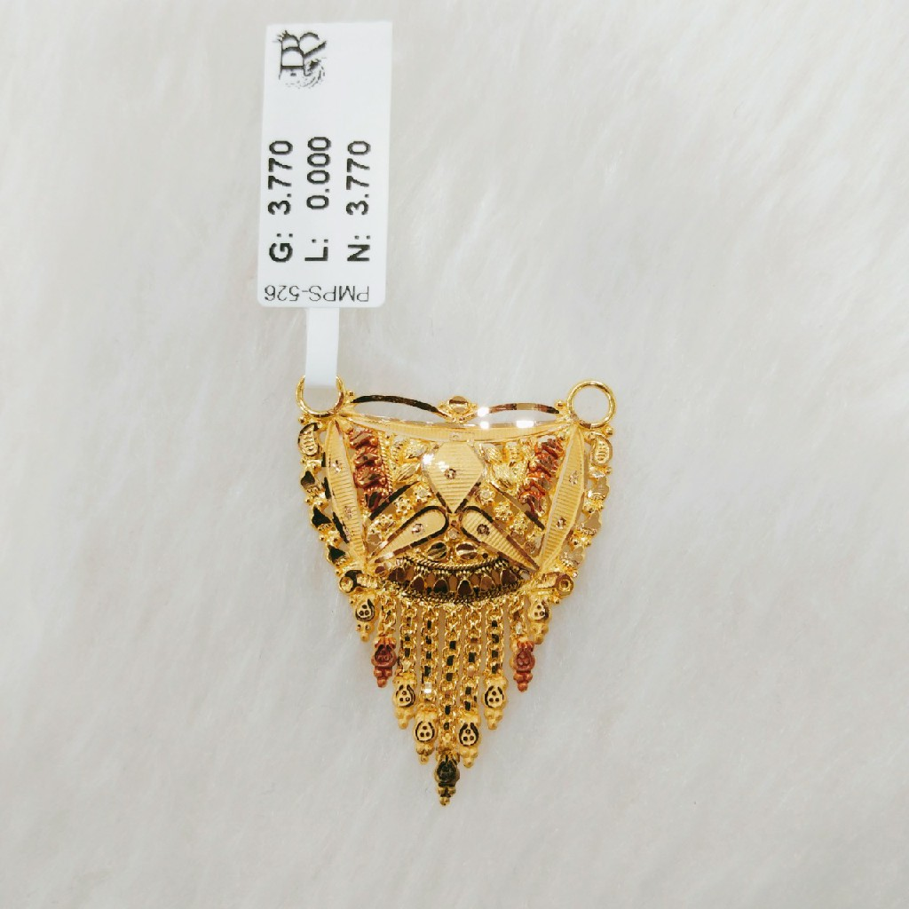 22K Gold Fancy pandal