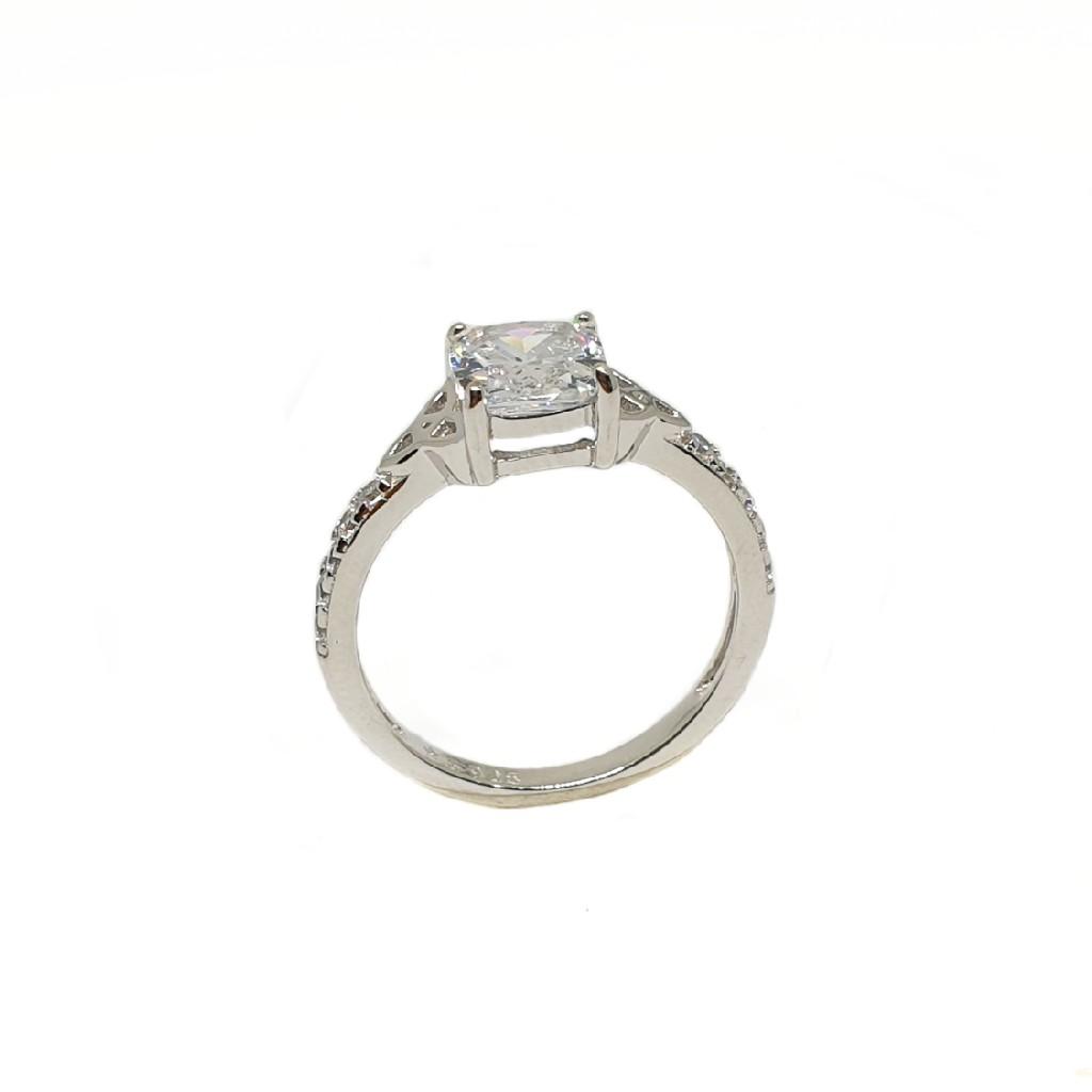 925 Sterling Silver Modern Ring MGA - LRS3475