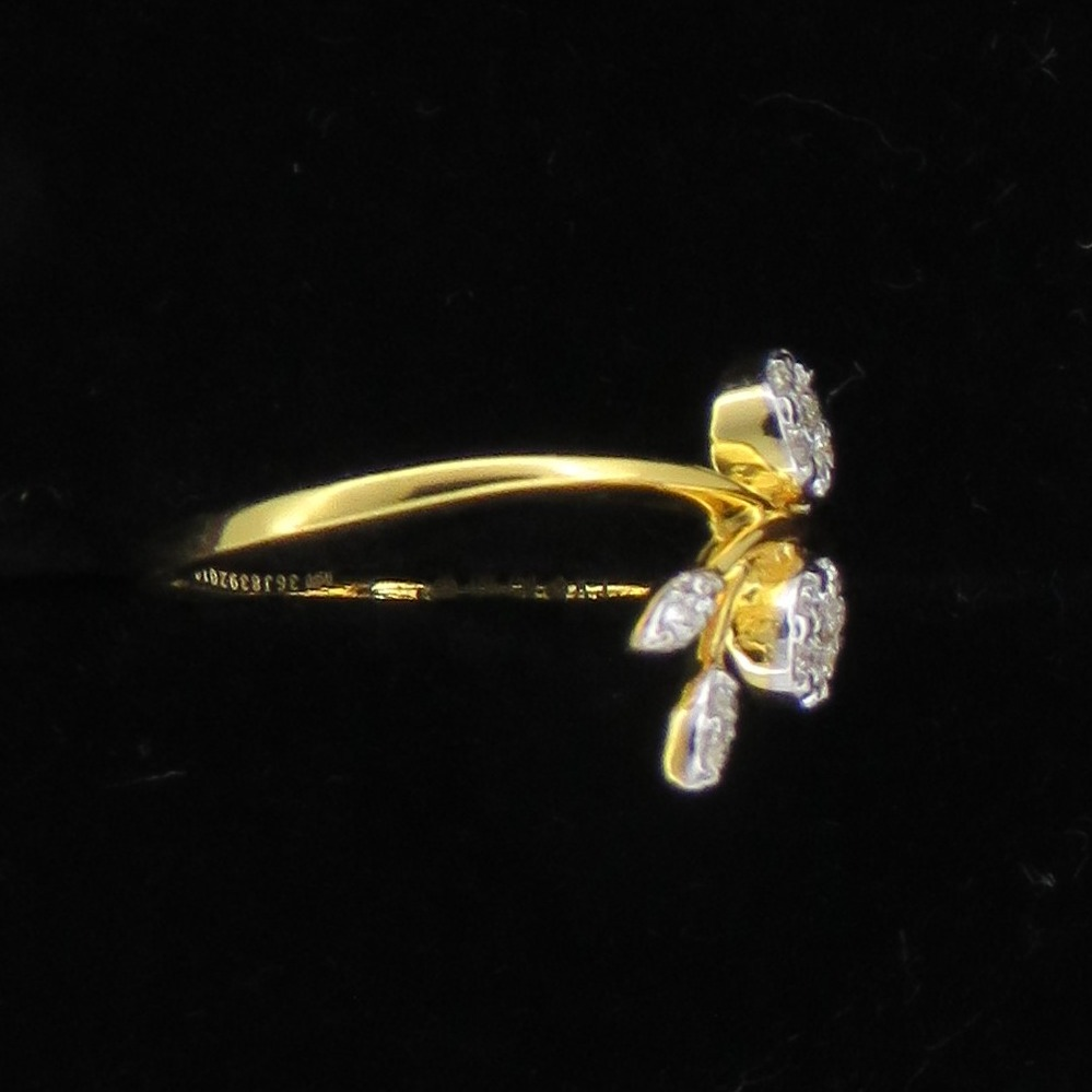 Stylish Diamond Ring For Women KJ-R15