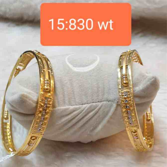 916 gold fancy kadli