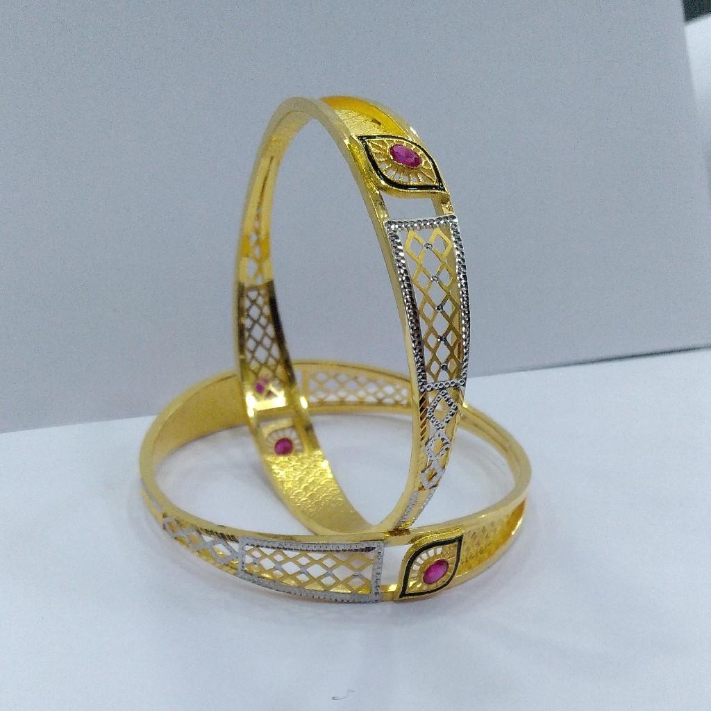 22KT/ 916 Gold fancy 2-in-1 Design Cooper Kadli for ladies