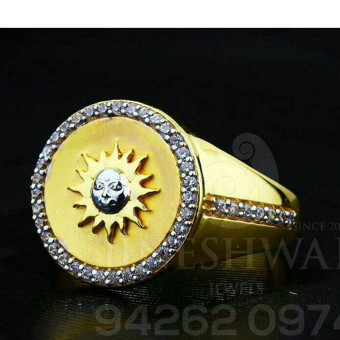 Eye Catching Gents Ring 916