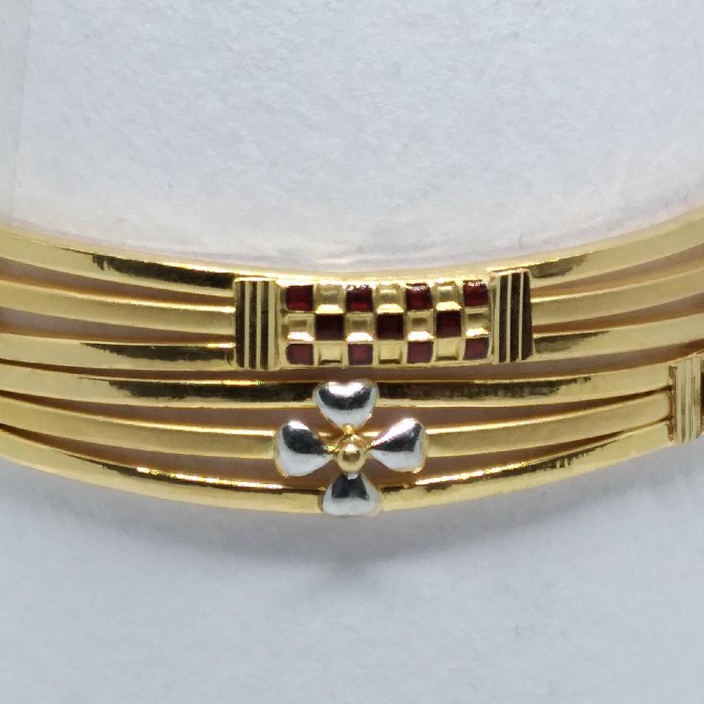 916 gold fancy 3pipe copper kadli