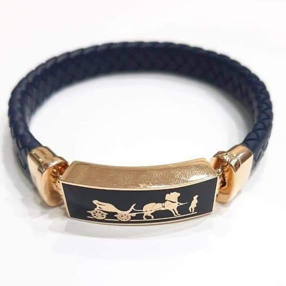 18 ct rose gold bracelet for gents