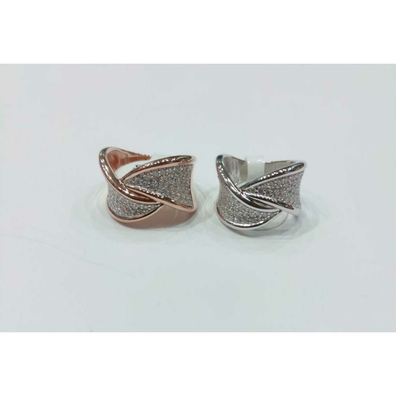 92.5 Unique Shape Ring Ms-4059