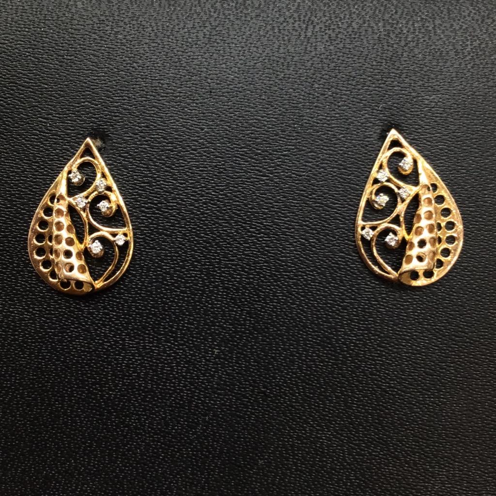 Real diamond fancy pendant set