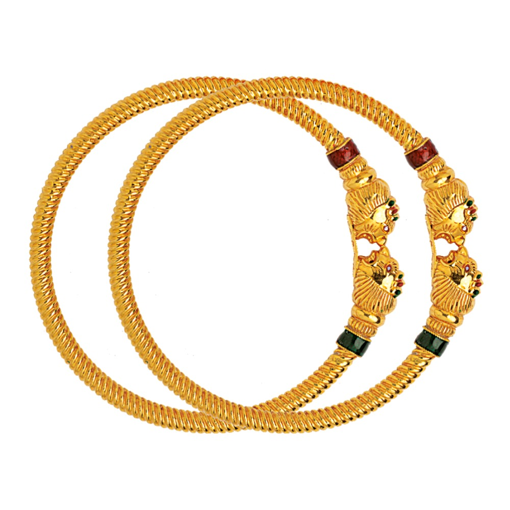 916 Gold Variya Copper Kadli Bangle RJK-004