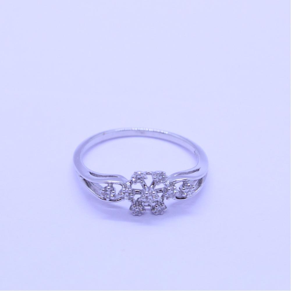 18K gold diamond ring agj-lr-324