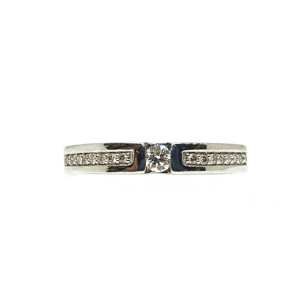 Platinum real diamond ring mga - rdr0013
