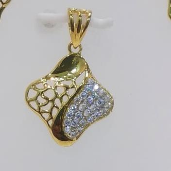 22 ct gold pendent set latest design