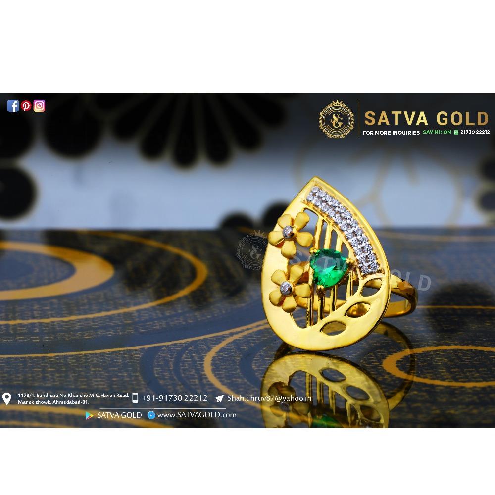 916 gold ring sgr-0045