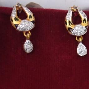 916 Gold hallmarked Earrings OB7525