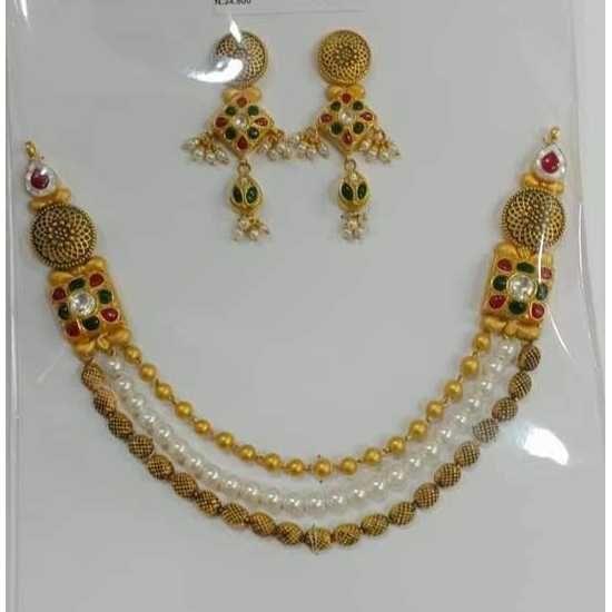 22ct Gold Fancy Necklace Set