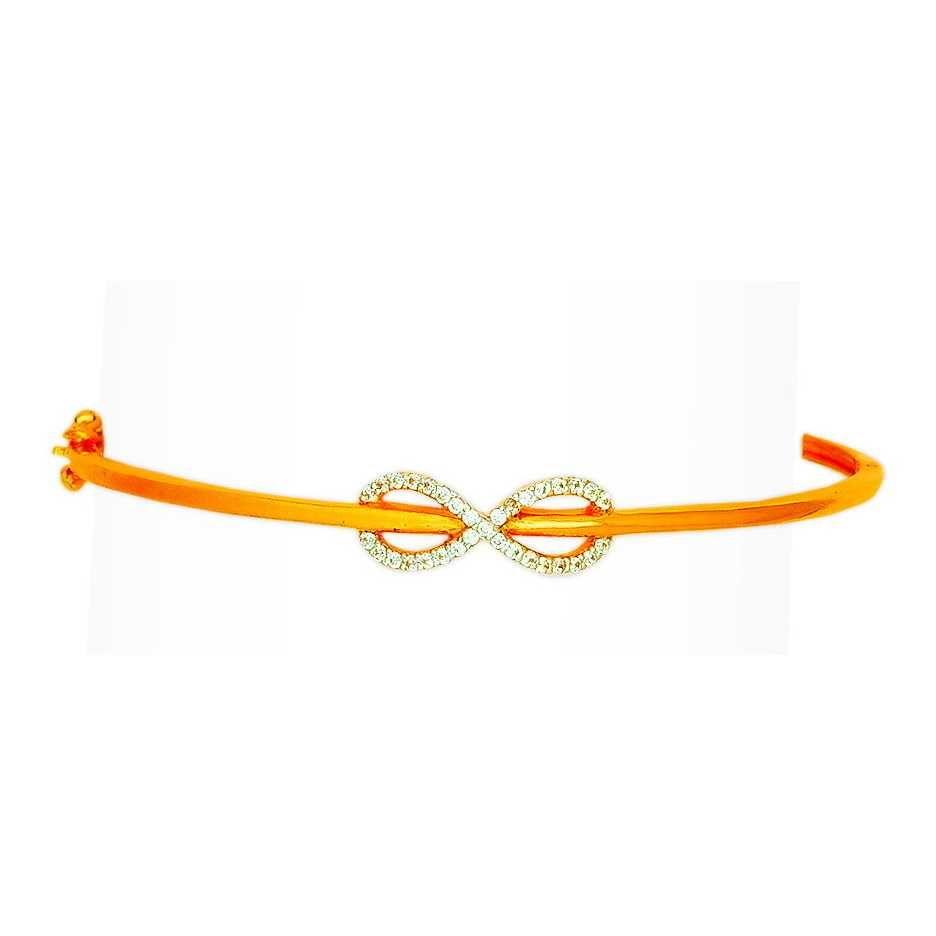 22KT Attractive Gold Ladies Bracelet