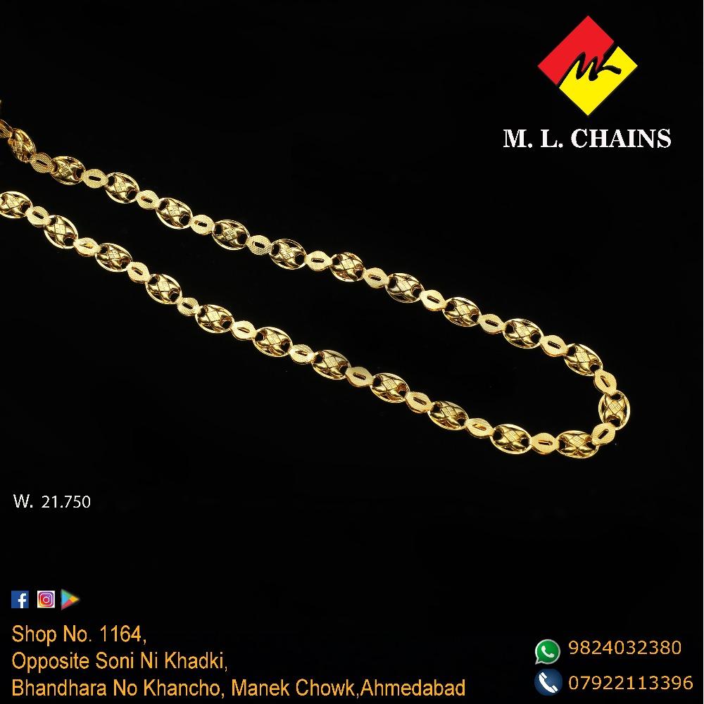 916 Gold Indo Italian Chain ML-C09