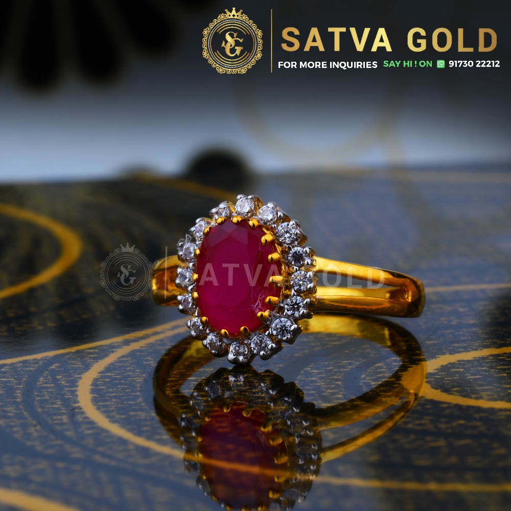 916 gold ring sgr-0046