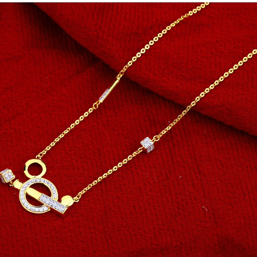 22Ct Gold  Ladies  Stylish   Chain Necklace CN117