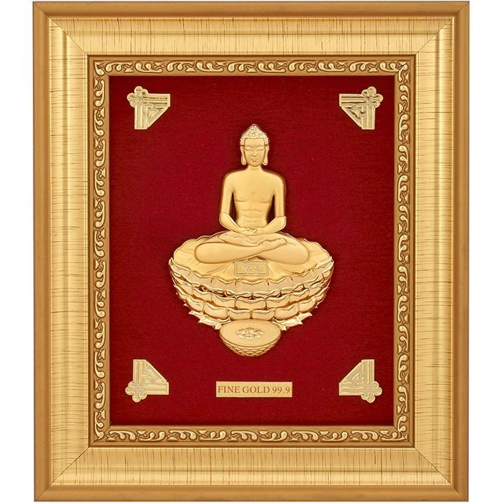MAHAVIRJI 999 GOLD FRAME