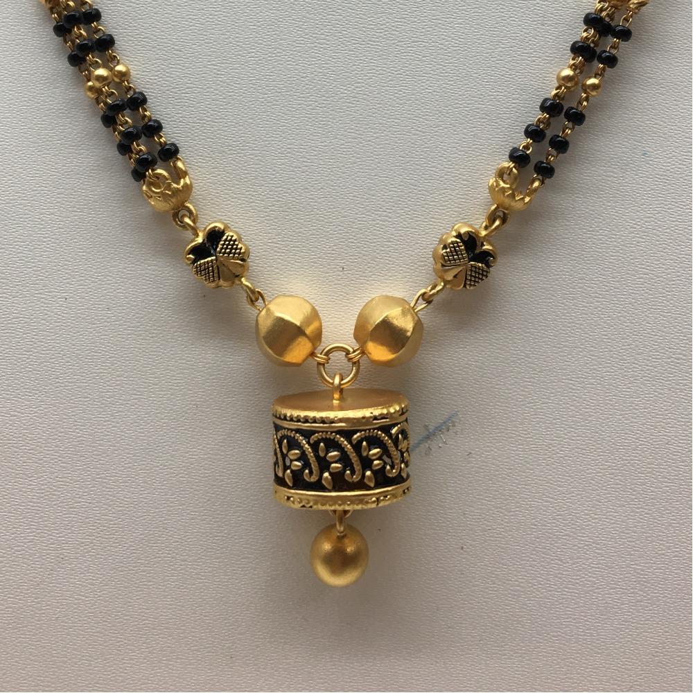 916 gold antique bridal mangalsutra dokiya