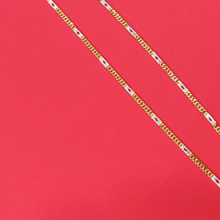22k 916 gold solid karab Navabi chain