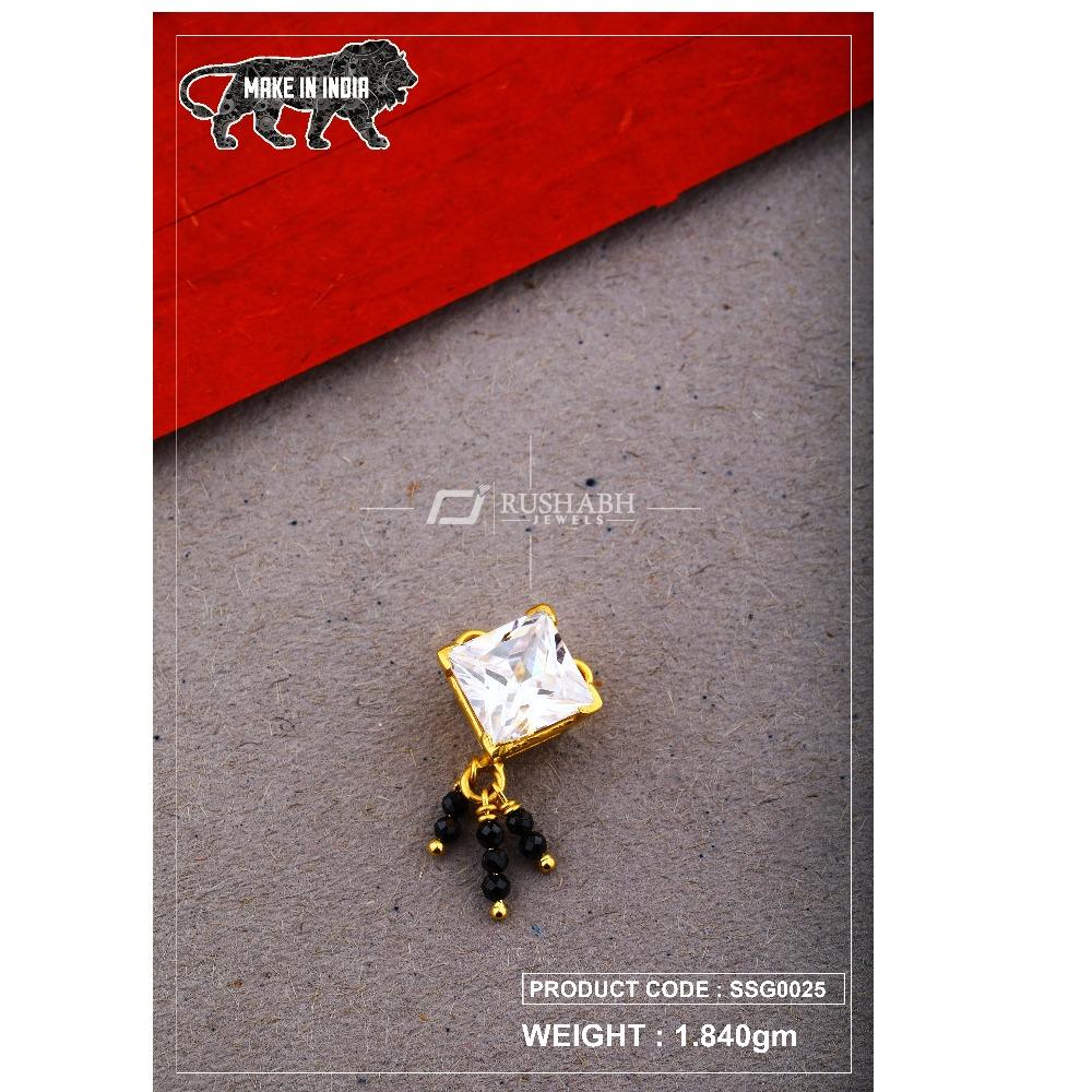 22 Carat 916 Gold Ladies singal stone msp smg0025