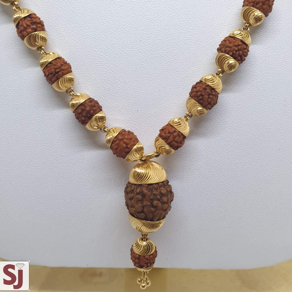 Rudraksh Mala RMG-0010 Gross Weight-28.120 Net Weight-22.070