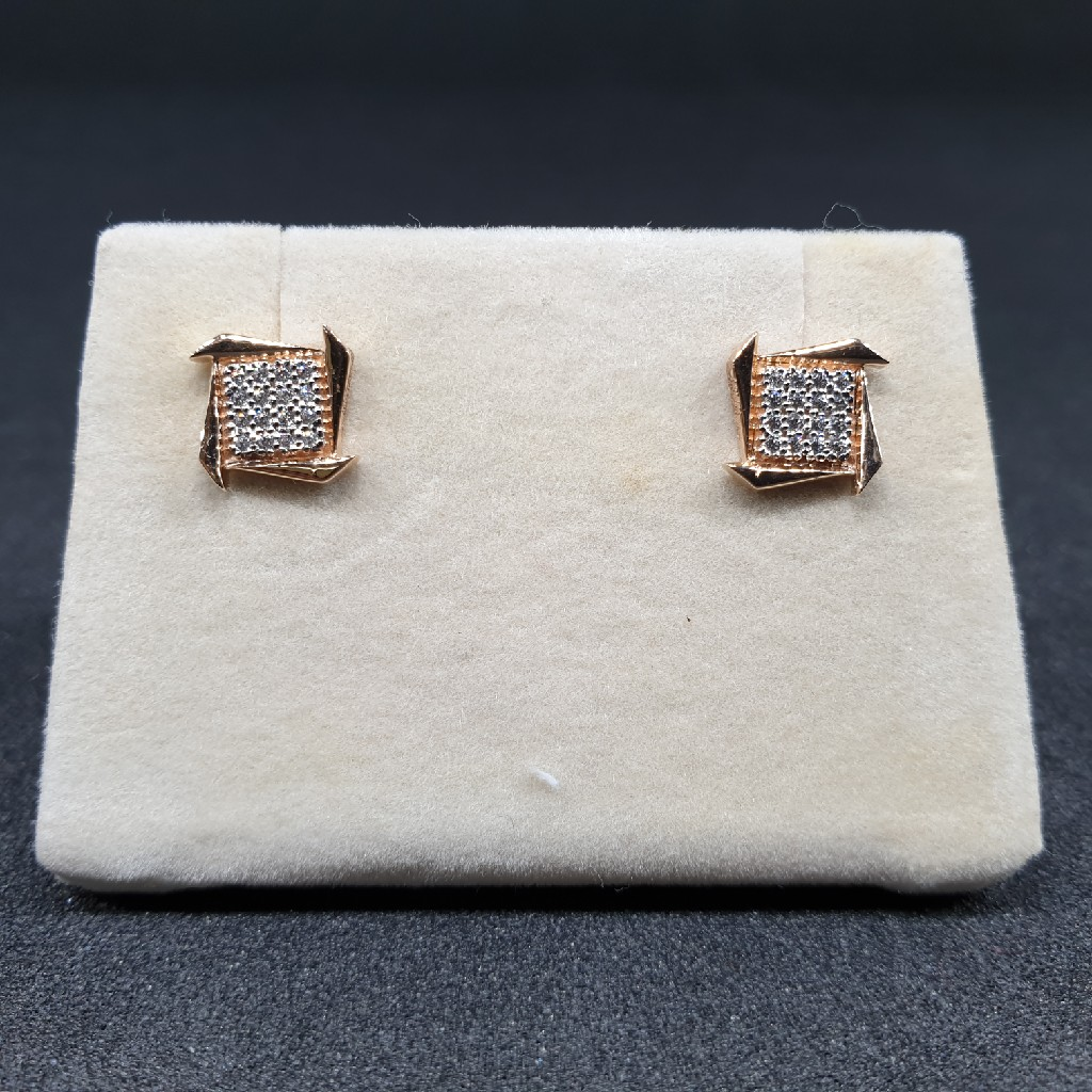 18k Rose Gold Earring