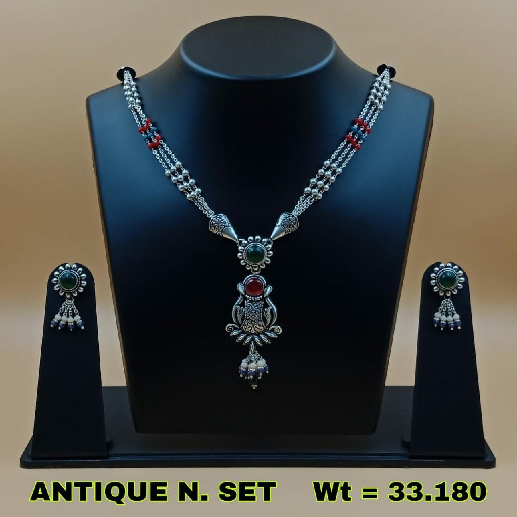 92.5 antique necklace set sl n022