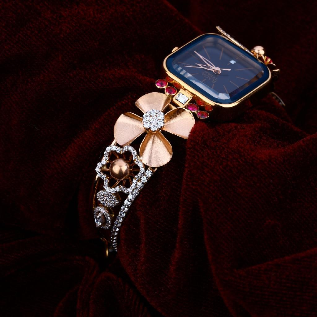 Gold Rose Watch-RLW48