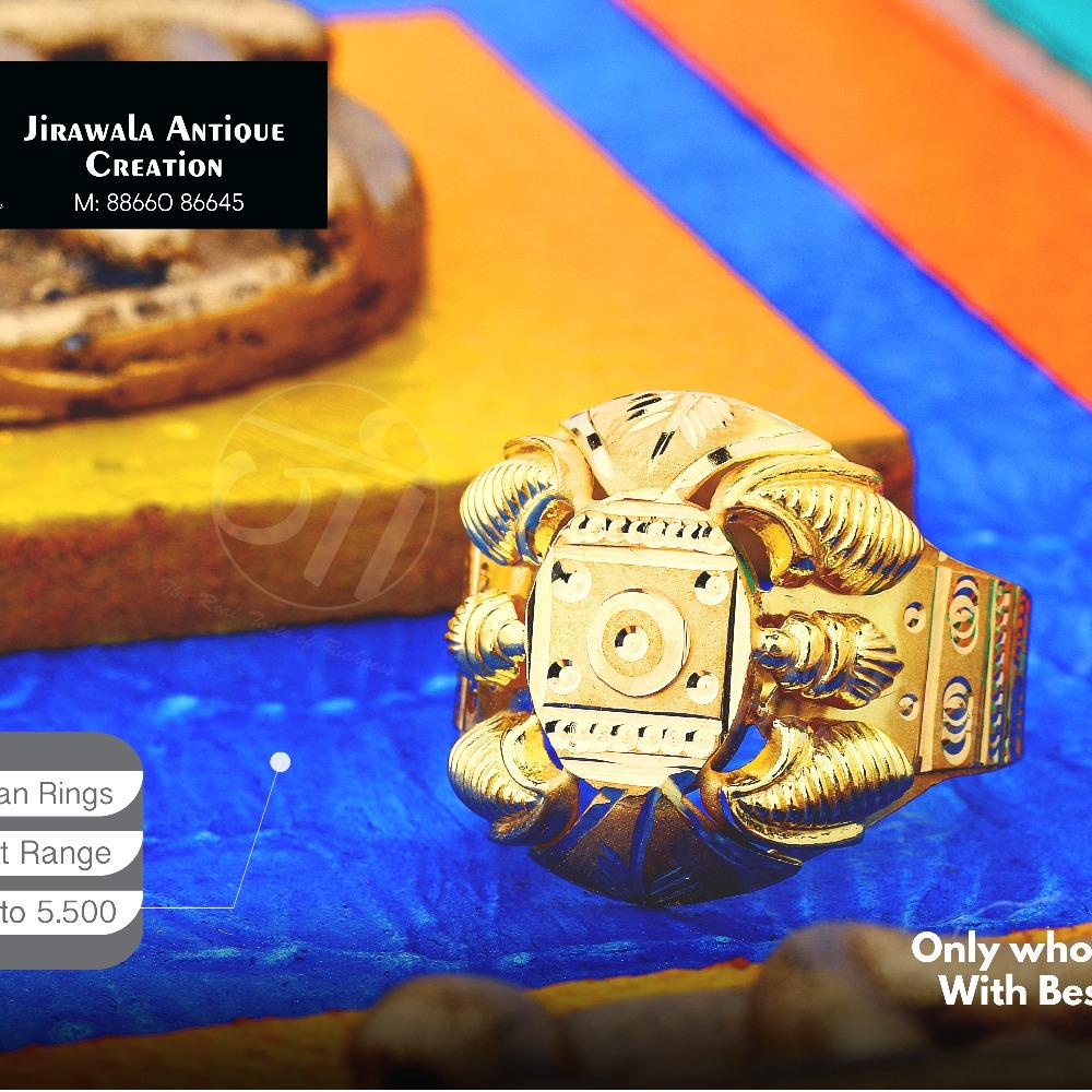 22KT Designer Nazaran Gold Ring JAR-012