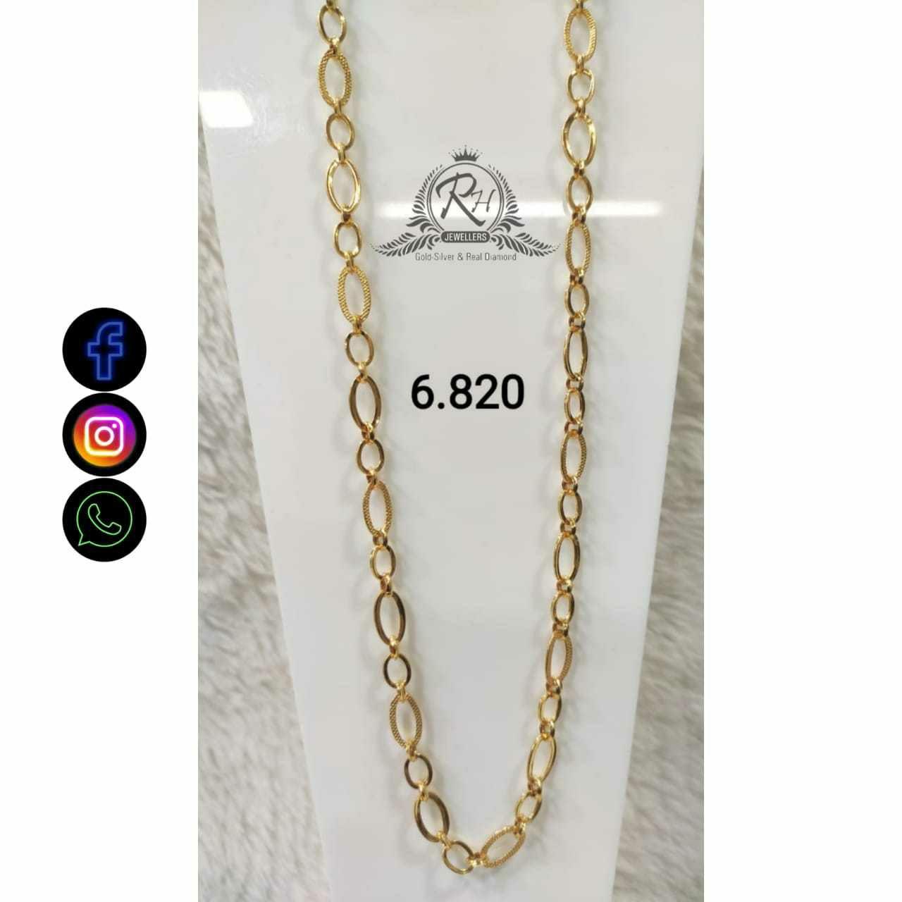 22 Carat Gold Gents Chain RH-CH.772