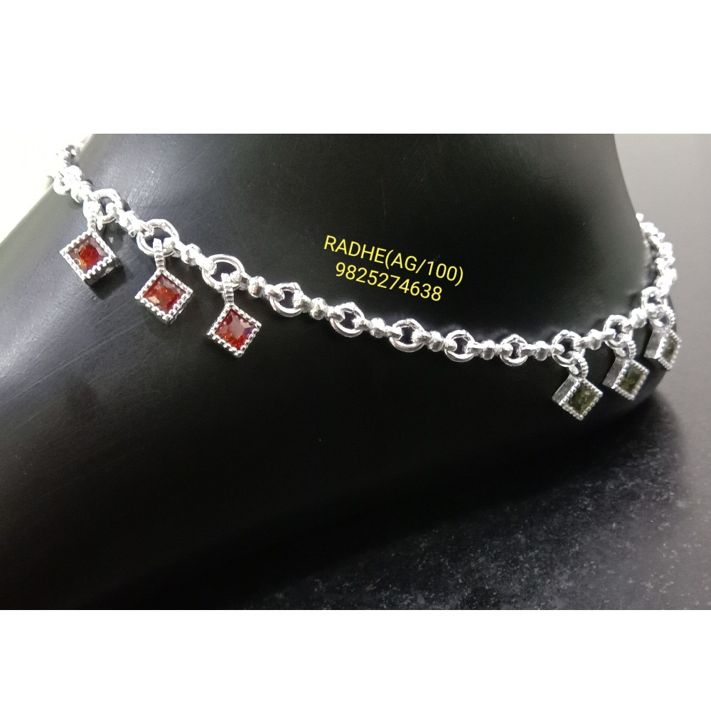 958 Silver Designer Payal RJ-016