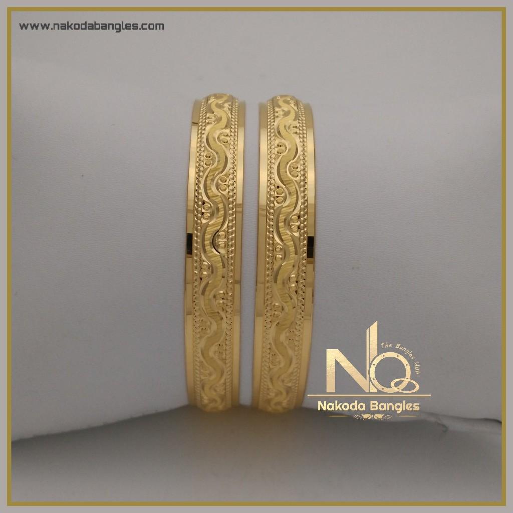 916 Gold Khilla Bangles NB-333