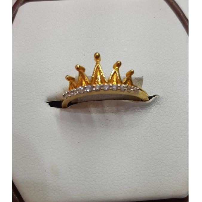 916 Gold Fancy Crown Ring For Women MJ-R017