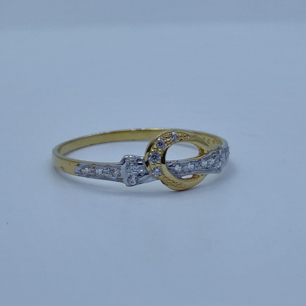 22k/916 very light weight ladies ring001