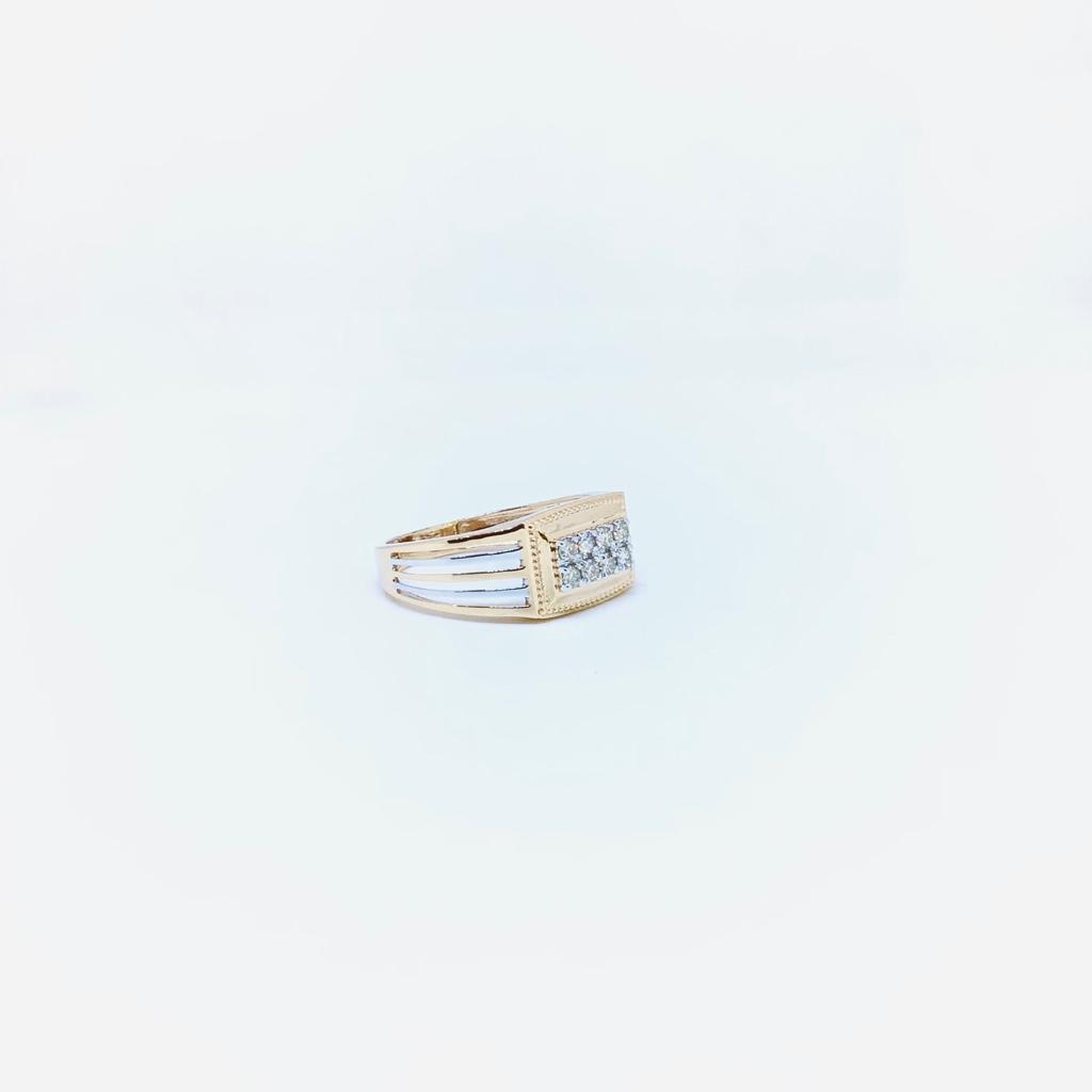 BRANDED REAL DIAMOND FANCY RING