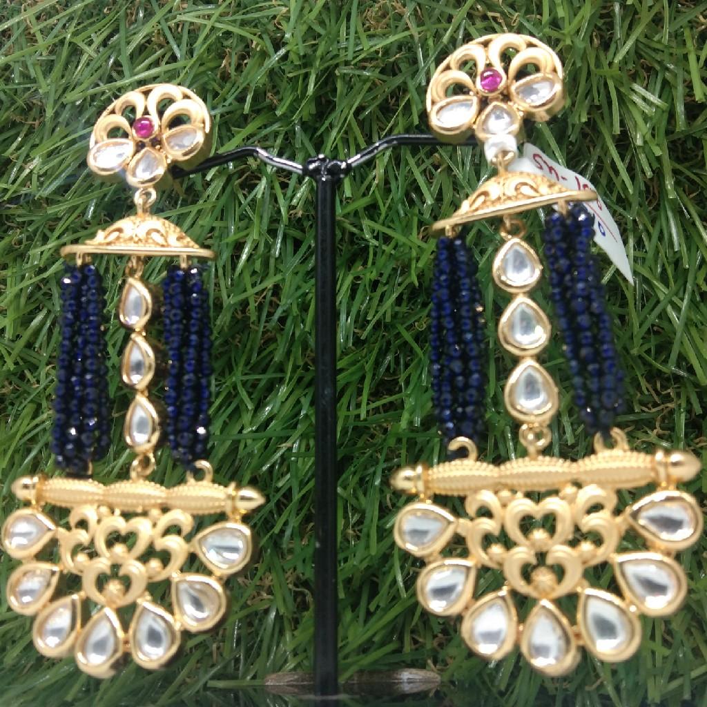 Kundan earring p 190