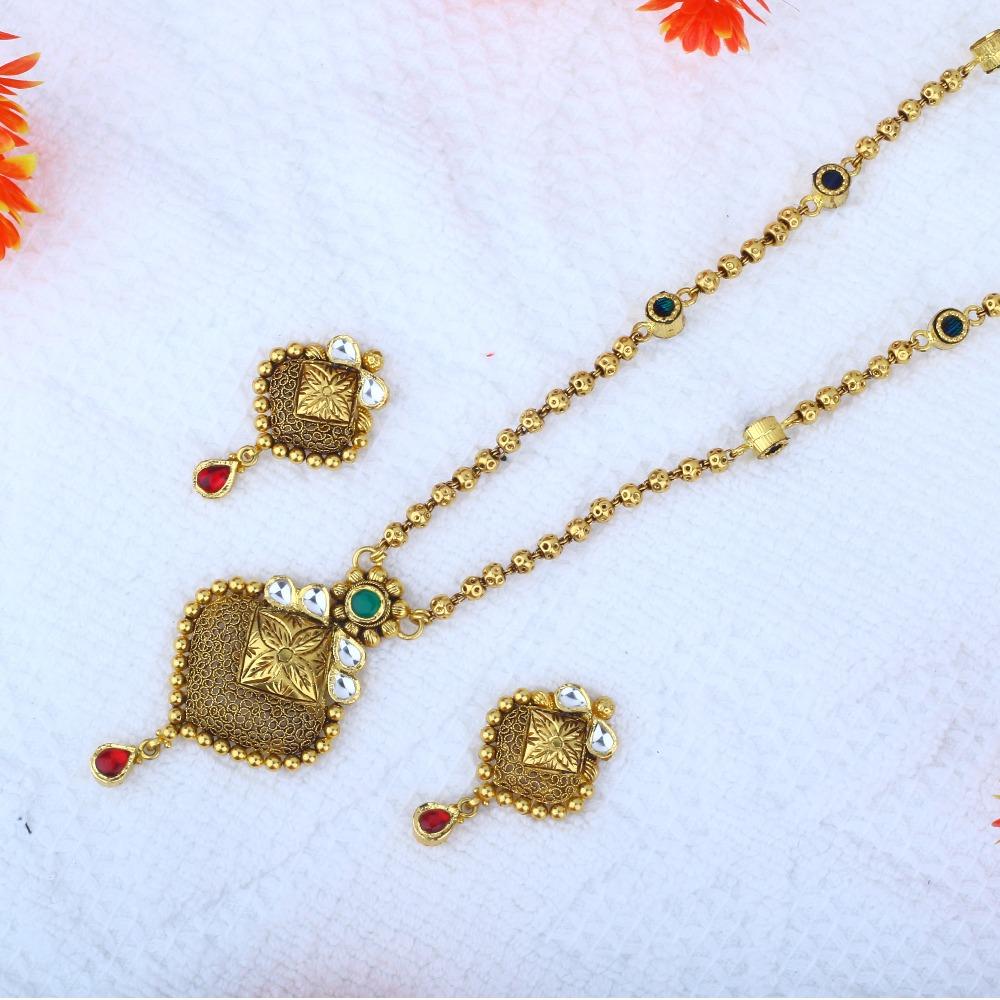 916 Gold Antique Dokiya JAC - N8382