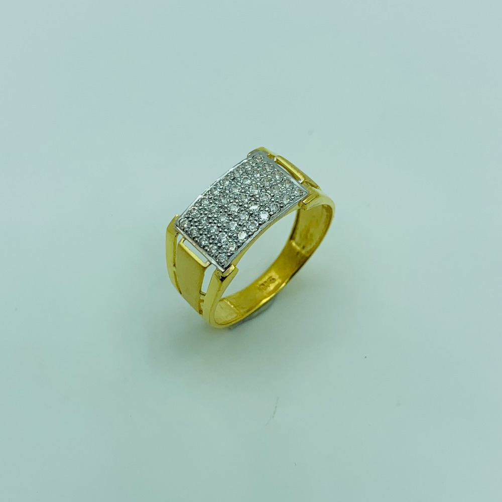 GOLD JENTS RING